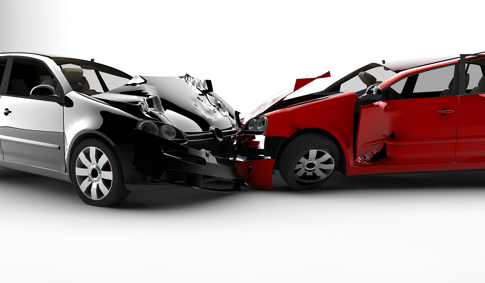 bigstock-Accident-With-Two-Cars-10969376